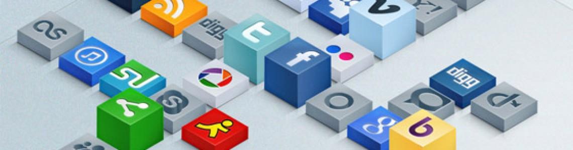 5 Yeni Sosyal Medya İkon Seti
